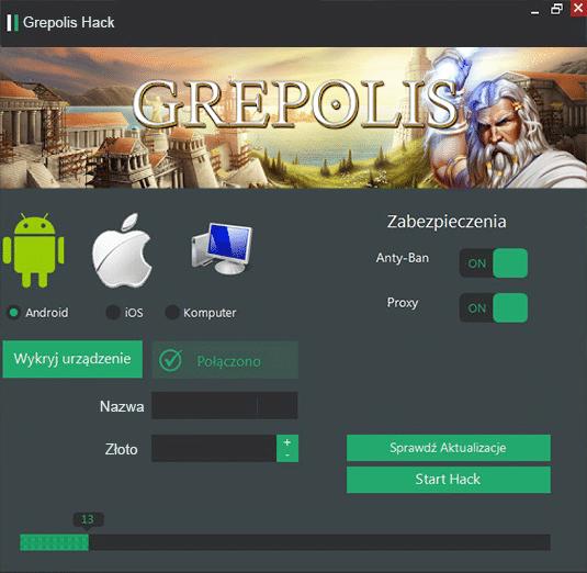 Hack do Grepolis